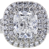 0.79 ct. Cushion Cut Halo Tiffany & Co. Ring, F, VVS2 #4