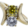 0.65 ct. Round Cut Ring, H-I, SI2-I1 #1