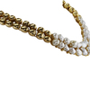 18K Yellow Gold Collar with Cultured Mabe Pearls and Diamonds #2