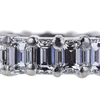 Emerald Cut Eternity Band Ring, G-H, VS1-VS2 #1
