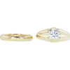 0.72 ct. Circular Brilliant Cut Bridal Set Ring, G, VS2 #2
