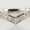 0.73 ct. Round Cut Bridal Set Ring #2