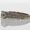 1.09 ct. Round Cut Bridal Set Ring #4