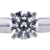 0.73 ct. Round Cut Solitaire Ring, H, SI1 #4