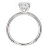 1.39 ct. Round Cut Solitaire Ring, G, I1 #4