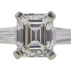 1.45 ct. Emerald Cut 3 Stone Ring, G, SI1 #4
