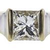 0.94 ct. Princess Cut Solitaire Ring, H-I, VVS1-VVS2 #1