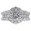 1.85 ct. Round Cut Bridal Set Ring, H-I, I2-I3 #1