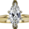 1.02 ct. Marquise Cut Solitaire Ring, H, SI1 #4