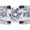 1.01 ct. Round Cut Solitaire Ring, I, SI2 #1