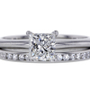 0.95 ct. Princess Cut Bridal Set Tiffany & Co. Ring #3