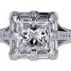1.21 ct. Princess Cut Solitaire Ring #1
