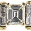 3.63 ct. Emerald Cut Solitaire Ring, J, VVS1 #4