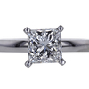 1.01 ct. Princess Cut Solitaire Ring #3