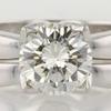 1.45 ct. Round Cut Bridal Set Ring #2
