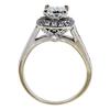 1.22 ct. Princess Cut Bridal Set Ring, I, VVS1 #3
