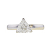 1.15 ct. Triangular Modified Cut Solitaire Ring, H-I, I1 #2