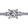 1.03 ct. Radiant Cut Solitaire Ring, I, VS2 #3