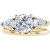 1.63 ct. Round Cut Bridal Set Ring, I, I1 #3
