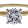 0.82 ct. Round Cut Solitaire Ring, F, I1 #4