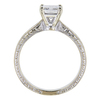 0.90 ct. Radiant Cut Bridal Set Ring, E, VVS2 #4