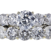 1.40 ct. Round Cut Bridal Set Ring, H, I2 #4