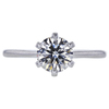 1.25 ct. Round Cut Solitaire Ring, J, VVS1 #3