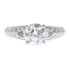 1.37 ct. Round Cut Solitaire Ring, H, I1 #3