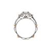 0.74 ct. Princess Cut Halo Ring, G, VS1 #4