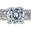 0.71 ct. Round Cut Bridal Set Ring, F, VS1 #4