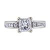 1.27 ct. Princess Cut Solitaire Ring, F, I1 #3