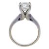 2.18 ct. Round Cut Bridal Set Ring, J, SI1 #3