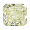 3.12 ct. Radiant Cut Bridal Set Ring, M-Z, SI1 #1