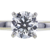 0.81 ct. Round Cut Solitaire Ring, G, SI2 #4