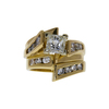 1.07 ct. Princess Cut Bridal Set Ring, H, VS2 #3