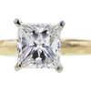 1.06 ct. Princess Cut Bridal Set Ring #4