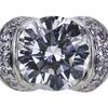 1.09 ct. Round Cut Bridal Set Tiffany & Co. Ring, E-F, VS1 #1