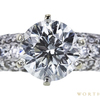 1.60 ct. Round Cut Bridal Set Ring, I, I1 #4