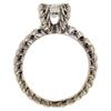 0.91 ct. Round Cut 3 Stone Ring #2