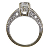 1.07 ct. Round Cut Bridal Set Ring, D, VS1 #3