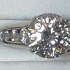 3.27 ct. Round Cut Bridal Set Ring #1