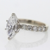 2.19 ct. Marquise Cut Solitaire Ring #2