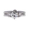 0.68 ct. Round Cut Bridal Set Ring, I, VS2 #3