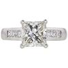2.41 ct. Princess Cut Solitaire Ring, I, SI2 #3