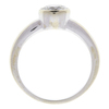 1.0 ct. Round Cut Bridal Set Ring, I, SI1 #4