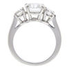 1.58 ct. Round Cut 3 Stone Ring, H, SI1 #4