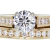 1.08 ct. Round Cut Bridal Set Ring #1