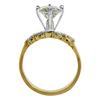 1.49 ct. Round Cut Bridal Set Ring, L, I1 #1