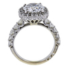 2.32 ct. Round Cut Halo Ring, D, I1 #3