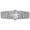0.8 ct. Round Cut Solitaire Ring, H-I, SI2 #2